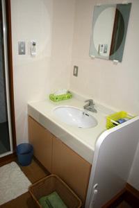 シャワー室:脱衣場の写真