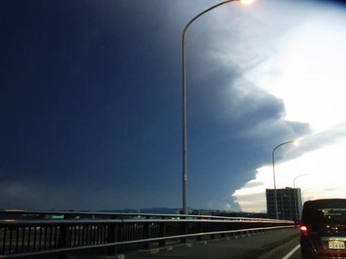 新燃岳 噴火